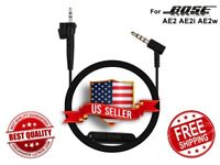 Replacement Audio Cable Cord w/ Mic For BOSE AE2 AE2i AE2w Headphones