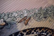 Hermes Pleated Silk Scarf  JUNGLE LOVE