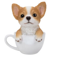 "Chihuahua Teacup Puppy Dog Collectible Figurine Miniature 5.5""H New"