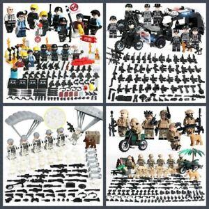 Spezialkräfte Militär Marine Soldaten Armee Minifiguren Sets Lego kompatibel