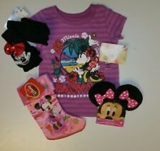 Disney Store Minnie Mouse Little Girls Holiday Christmas Gift Set NEW