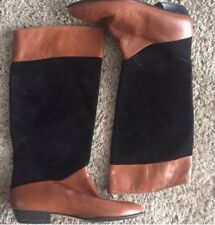Vintage Amalfi Leather n Suede Boots