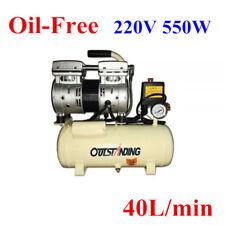 220V 550W Portable Oil-Free Electric Air Compressor Air Pump Inflatable 40L/min