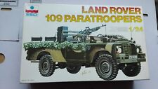 LAND ROVER 109 PARATROOPERS 1/24 ESCI