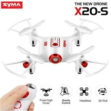 Mini Drone Syma X20-s Unique One Hand Control RC Quadcopter Hovering Kids Gift