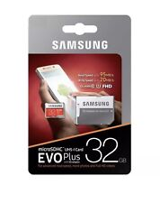 Samsung Micro SD Card SDHC EVO+ 95MB/s UHS-I Class 10 And Adapter Genuine 32GB