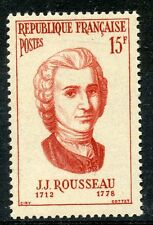 STAMP / TIMBRE FRANCE NEUF N° 1084 ** CELEBRITE / JEAN JACQUES ROUSSEAU