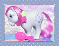 ❤️My Little Pony 25th Anniversary Retro Bluebelle 2007 Earth Pony G1 Style❤️