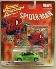 Johnny Lightning Spiderman '98 VW Beetle - Diecast - Carded