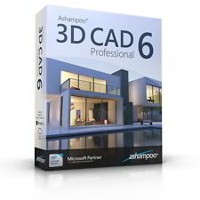 Ashampoo 3D CAD Professional 6 -lebenslange Lizenz Download  !
