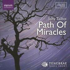 Joby Talbot : Path of Miracles, The (Short, Tenebrae) [sacd/cd Hybrid] CD