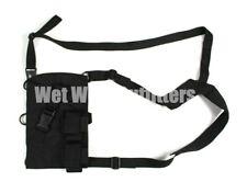 Old Gen BLACKHAWK! Black Left Handed Universal Revolver Shoulder Holster NSW LH
