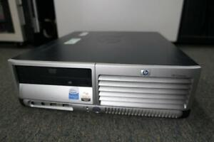 HP Compaq DC5100 SFF Win XP Pro 80GB HDD 32Bit 504MB Ram P4 DVD Rom