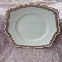Foley China E Brain & Co gilt cake plate lovely condition