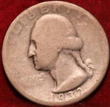 1932-D Denver Mint Silver Washington Quarter