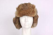 GSX Rustic Army Green Rabbit Ear Flap Snap Winter Hat Size M / L