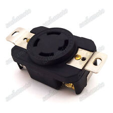 125/250V 4 Prong Receptacle Gas Generator Twist Lock Socket 30AMP NEMA L14-30R