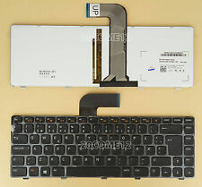 NEW For DELL Xps 15 L502x  Keyboard Backlit Norwegian Norsk
