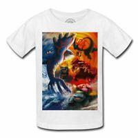 T-shirt enfant pokemon derniere evolution manga anime