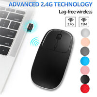 Rechargeable 2.4G Wireless Metal Silent Optical Type C Mouse Mice For Notebook b