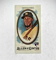 2017 Topps Allen and Ginter Mini A and G Back #99 Teoscar Hernandez - NM-MT