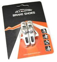 Alligator Light Road Bike Brake Shoes for Shimano 105 Ultegra Dura Ace Silver