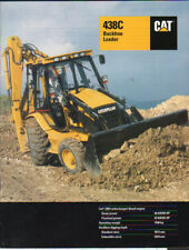 "Caterpillar ""438C"" Backhoe Loader Brochure Leaflet"