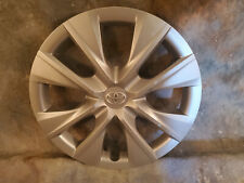 """1 NEW OEM 14-2016 Corolla 15"""" Hub cap Wheel Cover  SILVER PAINTED 8 HOLE"""