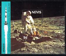 Navis Island US Space Moon Explorer Apollo 11 1989 Souvenir Sheet MNH