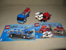 LEGO  City   LKW /  Gabelstapler  mit  Paletten  aus  den  Set  7898