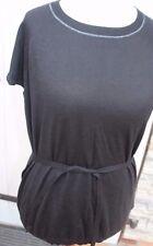Shirt Pullover - Escada Sport - Gr. L 42 - 44  - kurzarm schwarz- Neuware