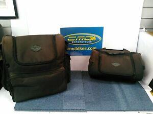 (10) Harley Davidson Soft Luggage Bags