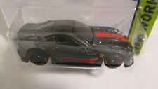 Hot Wheels 2015 #188 HW Workshop FERRARI 599XX dark silver/gunmetal grey