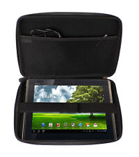Firm Black EVA Cover For Asus EeePad Transformer TF101 Tablet With Netted Pocket