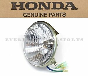Honda Sealed Beam Headlight C70 C70M Passport Head Lamp Bulb (See Notes) #S26