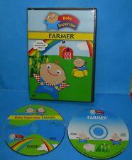 BABY SUPERSTAR Farmer DVD w/ Bonus CD Soundtrack AGES 3-24 months