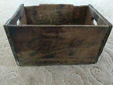Antique Blatz Beer Milwaukee Beer Wooden Beer Crate Odd Marking