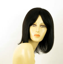 wig for women 100% natural hair black ref BAHIA 1B PERUK