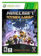 NEW Minecraft: Story Mode -- Season Disc (Microsoft Xbox 360, 2015)
