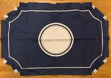 NEW Pottery Barn Teen Scallop Monogram Pinboard Cover NAVY