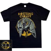 Rotting Christ Satanica Shirt S-XXL T-Shirt Black Metal Tshirt Official New