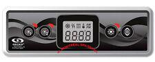 Aeware by Gecko spa TOPSIDE CONTROL KEYPAD IN.K300 2pumps w/ 10'cord & plug