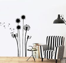 Wall Decal Flower Floral Plant Romantic Vinyl Sticker (z3627)