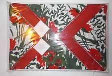 New listing Nwt Vintage Vera Neumann Placemat & Napkin Set 4 Each Floral 8 pcs