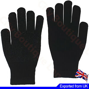Men Women Gripper Gloves Full Hand Non Slip Thermal Safety Work Cycling Gym