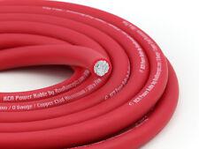 KnuKonceptz KCA Ultra Flex Red TRUE AWG 1/0 Gauge Power Wire 20 Feet