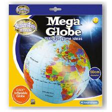 50cm Inflable Globe Bola - Niños Hinchable Pelota de Playa Geografía Juguete