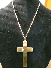 Giant Plastic Cross Necklace