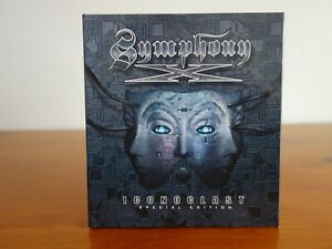 Symphony X Iconoclast (Deluxe Ltd Ed 2 CD Digibook) Out-of-Print