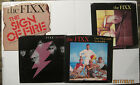 LOT of 4 FIXX 45rpm's w/ Picture Sleeves